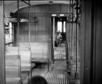 uno scompartimento molto simile a quello di un vecchio treno delle Ferrovie Nord